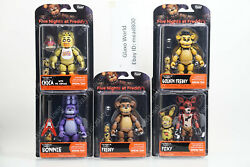 Funko Five Nights At Freddy#x27;s Articulate Action 5quot; Figures FNAF Spring Trap $29.99