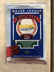 1989 Upper Deck unopened LOW NUMBERED SERIES packs: Griffey RC $8.49