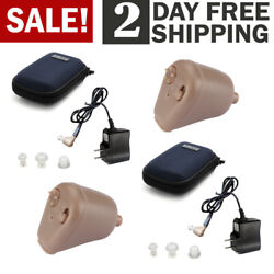 Rechargeable Digital Mini In Ear Hearing Aid Adjustable Tone Amplifier US $41.99