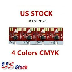 Chip Permanent for Mimaki JV33 SS21 Cartridge 4 Colors CMYK US Stock $56.50