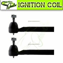 For 2005 2006 2007 Nissan Murano Pair Of 2 Brand New Front Tie Rod End Links $30.58