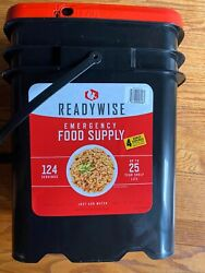 ReadyWise Ready Wise Company 124 Servings Emergency Food bucket $112.80