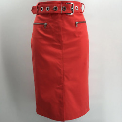 Georges Rech Red Pencil Skirt 6 $28.20
