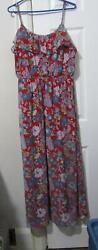 FOREVER 21 FLORAL MAXI DRESS SIZE 2X 22 REDUCED C $18.99