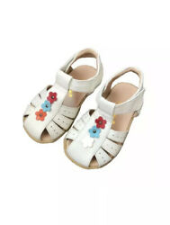 Baby Infant Toddler Girls High quality Sheep Leather Sandals Size 3 4 5 6 7 8 $12.99