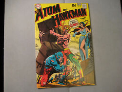 The Atom And Hawkman #45 (DC 1969) $19.21