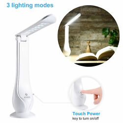 LED Desk Lamp Touch Control Eye-caring Table Lamps with USB Charging Port 2020 $6.22