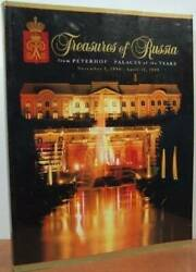 Treasures of Russia from Peterhof Palaces of the Tsars Paperback VERY GOOD $4.39