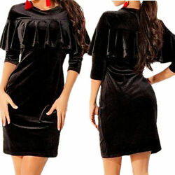 Women Bodycon Casual Bandage Party Evening Cocktail Long Mini Tops Dress Skirts $21.94