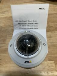Axis M3044-V Security Camera Ip White Dome $125.00