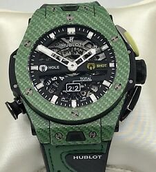 Hublot Big Bang Unico Golf Green Carbon Fiber Limited Edition Mens Watch