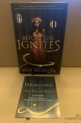 Before She Ignites:Signed 1st Edition Hardcover Owlcrate