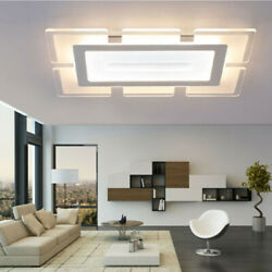 Rectangular LED Flush Light Acrylic Ultrathin Ceiling Lamp Modern LED Chandelier $79.99