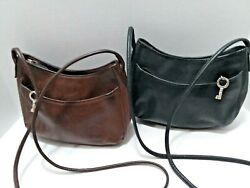 Fossil Handbag 2 identical one black one brown Soft Leather No condition Issues  $27.00