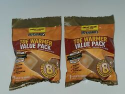 2 Value Packs Hot Hands Toe Warmers 7 Pair ea. 14 Total Pairs HotHands  $5.00