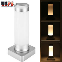 Touch Control Bedside Lamps 3 Modes Warm White Light & USB Changing for Bedrooms $18.29