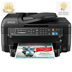 Epson WF-2750 All-in-One Wireless Color Printer with Scanner Copier  $348.93