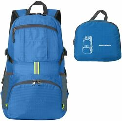 ORICSSON Unisex Rated 35L Durable Lightweight Foldable Backpack Waterproof Handy $7.99