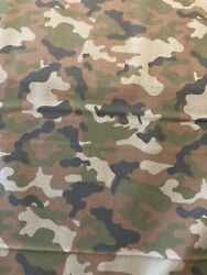 CAMOUFLAGE Classic Camo 100% Cotton Fabric by the Half Yard $5.00