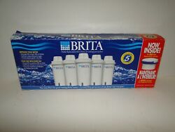 5-Pack Brita Pitcher Replacement Filters Brand New Retail Box $19.99