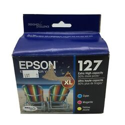 Epson 127 XL DURABrite Ultra Multipack Extra High Capacity Tri Color Ink 032020 $39.99