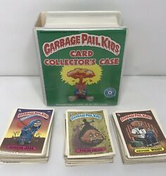 Garbage Pail Kids Card Collector's Case Placo Toys 1986 With 100 Cards Inside $85.00