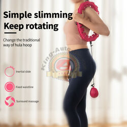 Adjustable Fitness Exercise Smart Purple Hula Hoop Slim Waist Workout At Home $47.71