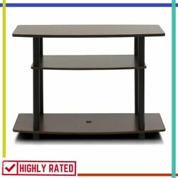 TV STAND Simple Stylish Modern for Living Room Storage Decor 3 Tier By FURINNO $41.25