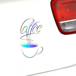2x Kitchen Coffee House Cup Wall Stickers Vinyl Decal Home Cafe Decor Removable $3.39