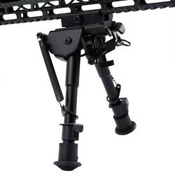 Pinty 6quot; 9quot; Hunting Rifle Bipod Adjustable Spring Return Rail Mount Adapter $20.99