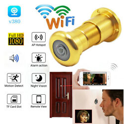 Mini CCTV Wide Angle IR Night Vision 1080P WiFi Door Eye Camera Bullet P2P $73.99
