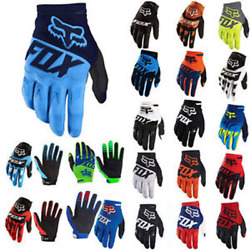 Men Fox MTB Cycling Bicycle Bike Motorcycle Motocross Offroad Full Finger Gloves $14.88