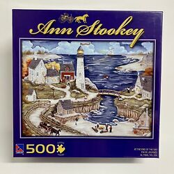 Country Living Jigsaw Puzzle by Ann Stookey At The End Of The Day 500 piece NEW $14.95