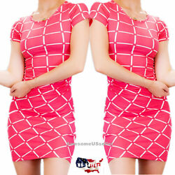 Women Dresses Bodycon Bandage Tops Dress Short Sleeve Cocktail Casual Club Party $9.94