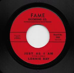 Lonnie Ray - Just As I Am  Diamonds (Soul 45) 6409 $6.99