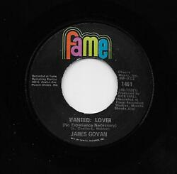 James Govan - Wanted Lover  Jambolyia (Soul 45) 1461 $4.99