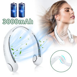 USB Portable Hanging Neck Fan 2 In 1 Air Cooler Mini Electric Air Conditioner US $13.95