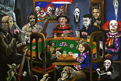 Horror Slashers Playing Cards Poker Film Art Wall Room Poster POSTER 24x36 $18.99