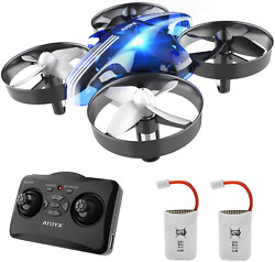 Mini Drones for Kids and BeginnersHelicopter with Remote ControlRC Pocket Quad $36.70