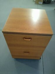 Mid Century Modern Teak 2 Drawer Filing Cabinets 2 available $195.00