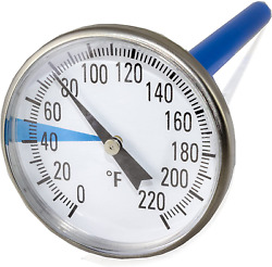 Smartchoice Premium Stainless Steel Soil Thermometer For Backyard Composting 1 $22.75