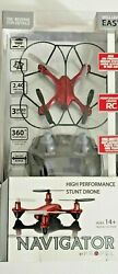 Prowler Palm Size Performance Stunt Drone by Propel Navigator Red $49.99