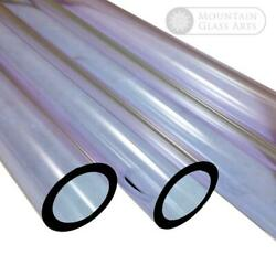 Pyrex Glass Blowing Tubing Purple Color 9 mm x 2mm Heavy Wall 4 Pieces x 8#x27; Inch $9.26