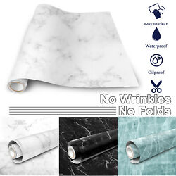 Marble Contact Paper Oil proof Waterproof Wallpaper Kitchen Countertop Bathroom $16.95