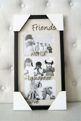 New FETCO Home Decor Collage Multi Photo Wall Picture Frame 17quot; x 9quot; $8.00