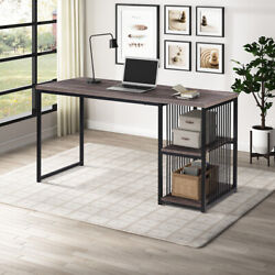 46 Inch Home Office Computer Desk PC Laptop Writing Desk Modern Simple PC Table $169.99