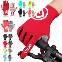 Full Finger Cycling Gloves Bicycle Bike MTB Touchscreen Motorcycle Men Women US $18.09