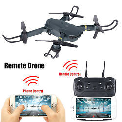 4K/500W/200W Foldable FPV RC Drone With HD Camera 2.4G 6-Axis Quadcopter E58 US $36.99