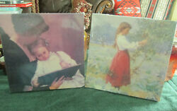 NEW Laurel Ink Puzzle LOT of 2 End of the day Kendall Henrietta Picking Apples  $9.99