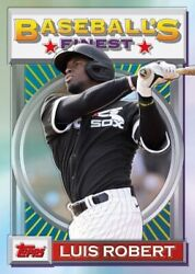2020 Topps Baseball#x27;s Finest Flashbacks Complete Your Set Pick a Card 1 199 $40.49